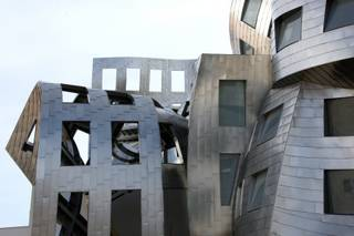 The Cleveland Clinic Lou Ruvo Center for Brain Health, which features a unique, twisting architecture, is nearing completion for its opening in May.