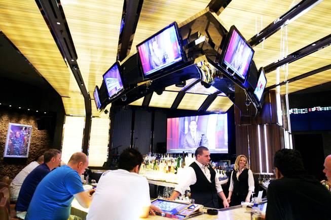 The Book and Stage bar at the Cosmopolitan on Thursday, May 19, 2011.
