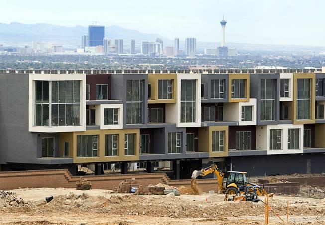 New Homes Springing Up Amid Abandoned Developments Las