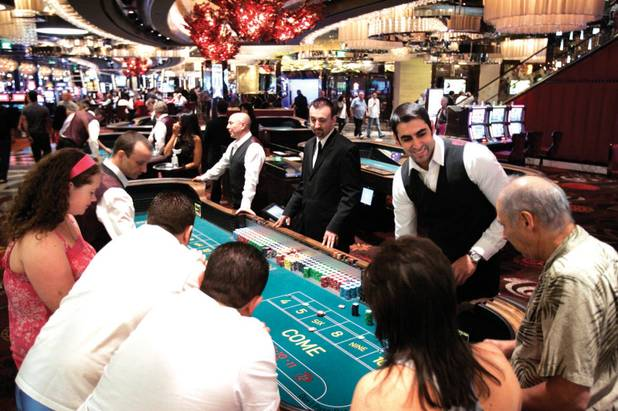 The casino: The resort's casino floor buzzes with all of the gaming standards--blackjack, roulette, craps, baccarat, poker games and slot machines. The race and sports book by Cantor Gaming offers the latest in sports betting technology. But if you're going, go to bet, not just watch. Unlike other areas, there are no spare chairs for spectators.