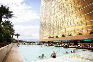 The pool at Trump International Hotel Las Vegas Friday, July 8, 2011.