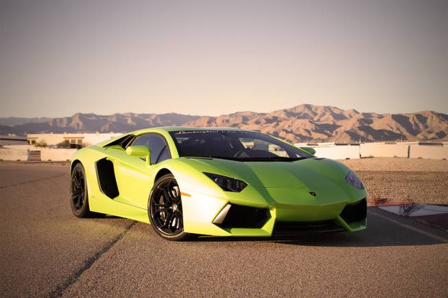 Exotics Racing has added Lamborghini's latest high-performance car, the Aventador, to the line of exotic cars it offers at its operation at the Las Vegas Motor Speedway.