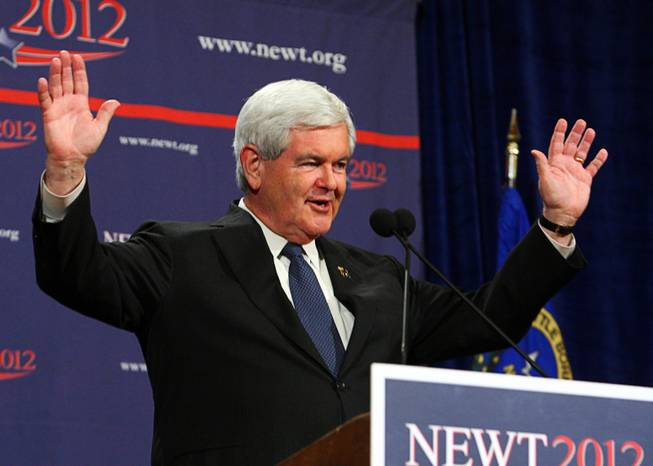 Gingrich Comes in Second