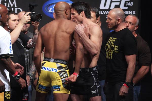 las vegas betting odds ufc 148 fights