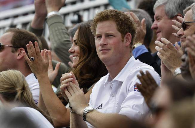 Prince Harry Caught Playing Naked Billiards in Las Vegas