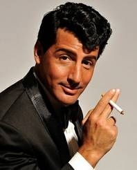 "Drew Anthony portrays Dean Martin in ""The Rat Pack is Back Show"" at the Rio All-Suite Hotel and Casino."
