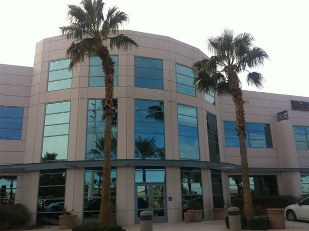 The office building at 1401 N. Green Valley Parkway in Henderson, as seen Jan. 29, 2013. Southern California investor Ed Mustafa recently acquired this and six other nearby commercial buildings.