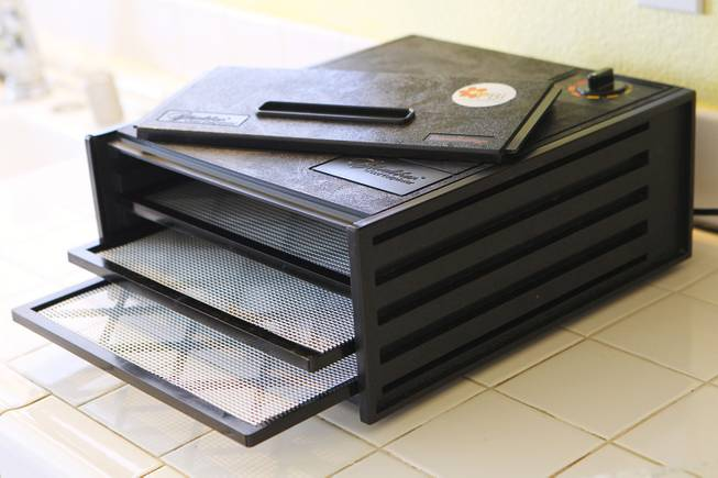 This is one of the dehydrators that Jodi Selander uses to desiccate placentas Thursday, Feb. 21, 2013.