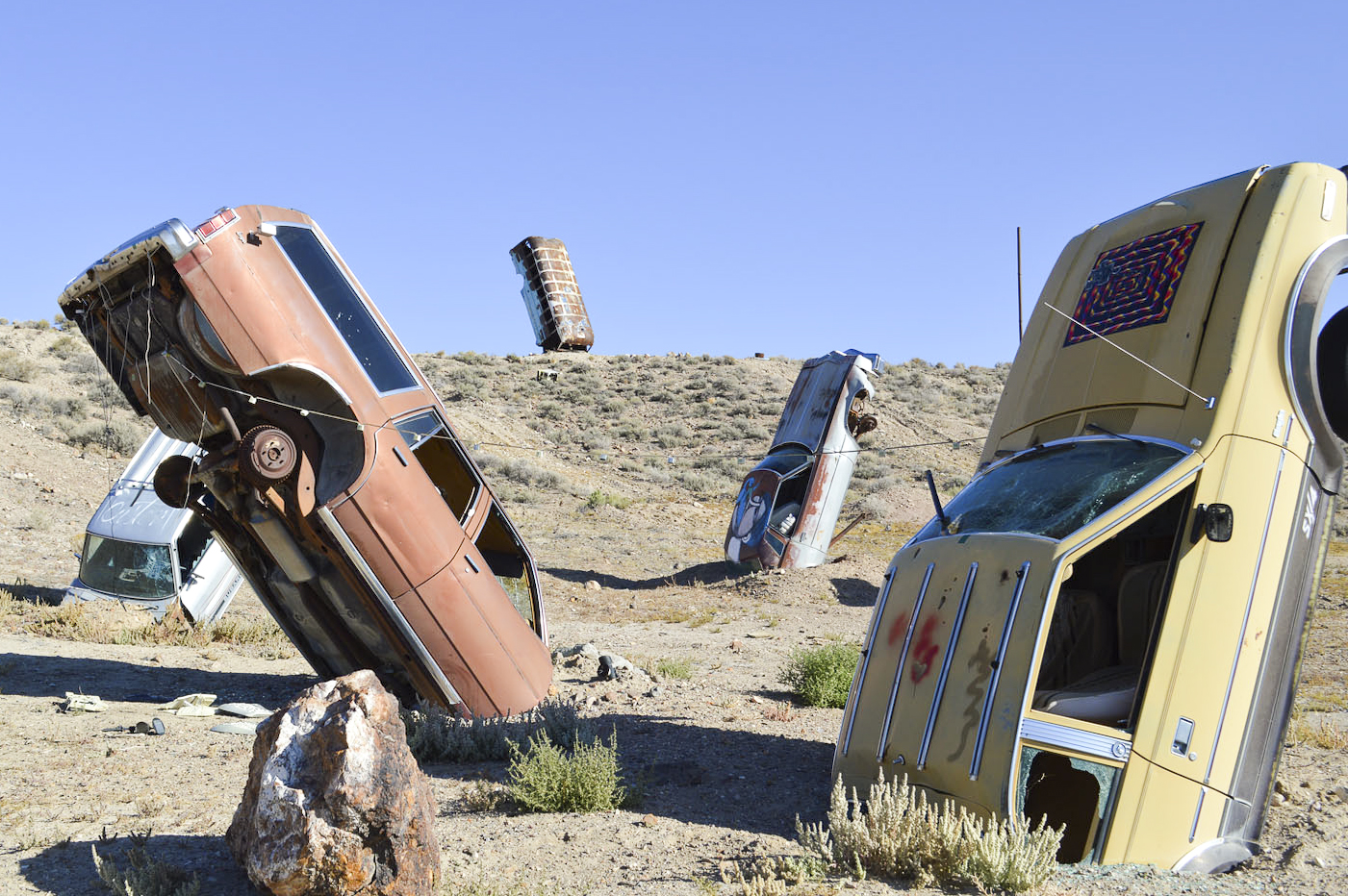 Odd Nevada Ghost Towns The Car Forest And A Haunted Hotel Las Vegas Weekly