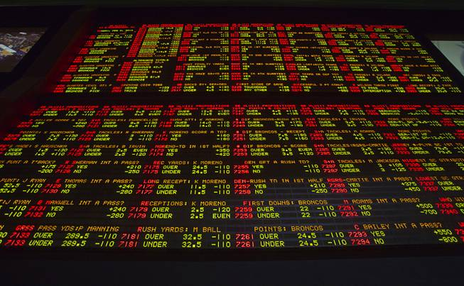 Lvh sports betting prop odds sb nation college football betting