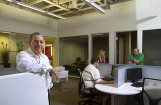 Jaime Velez, broker and operating partner, poses in the
