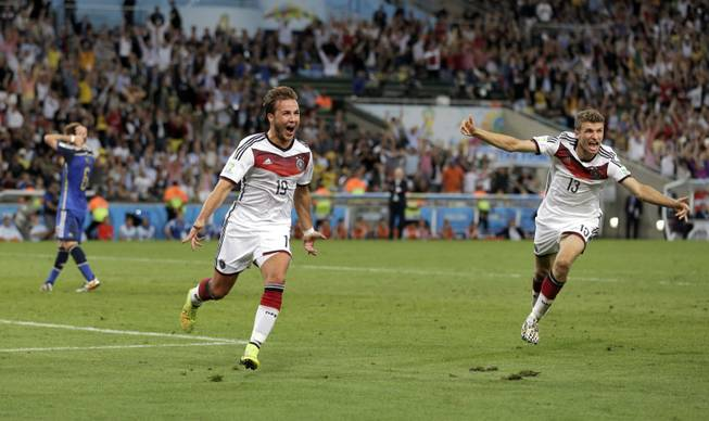 Gotze scores late to give Germany World Cup win over Argentina - Las Vegas  Sun Newspaper