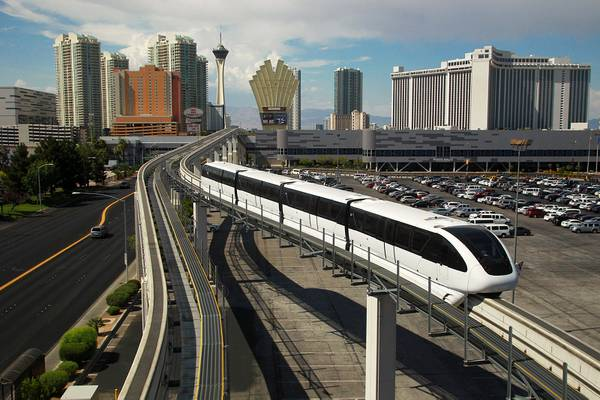People mover, Monorail to coexist on the north Strip