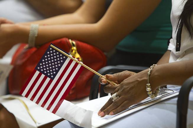 New Citizens Sworn In At Fifth Street School