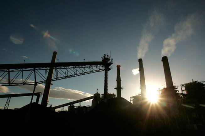 The Reid Gardner Station coal-fired power plant in Moapa is set to be closed by 2017.