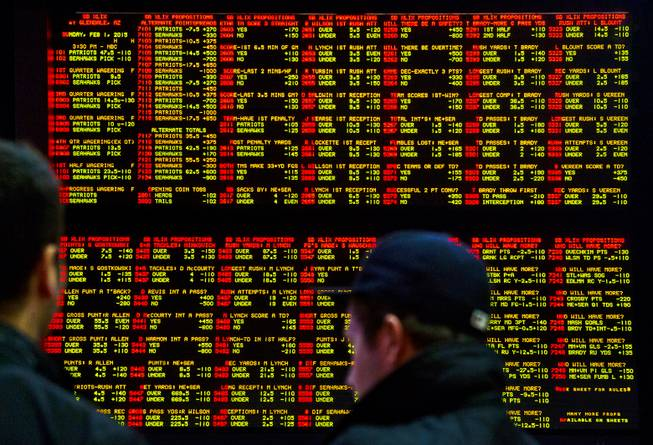 Vegas super bowl betting card index betting explained that