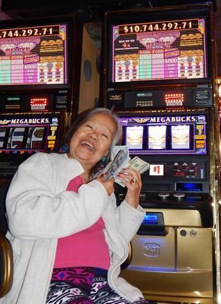 Old woman at jackpot casino 888 casino contact uk