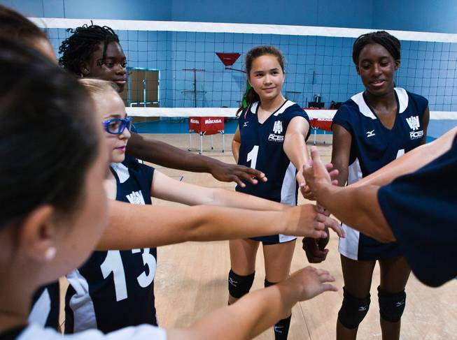 Youth Volleyball Team Set For Nationals Looks To Continue Winning Ways Las Vegas Sun Newspaper