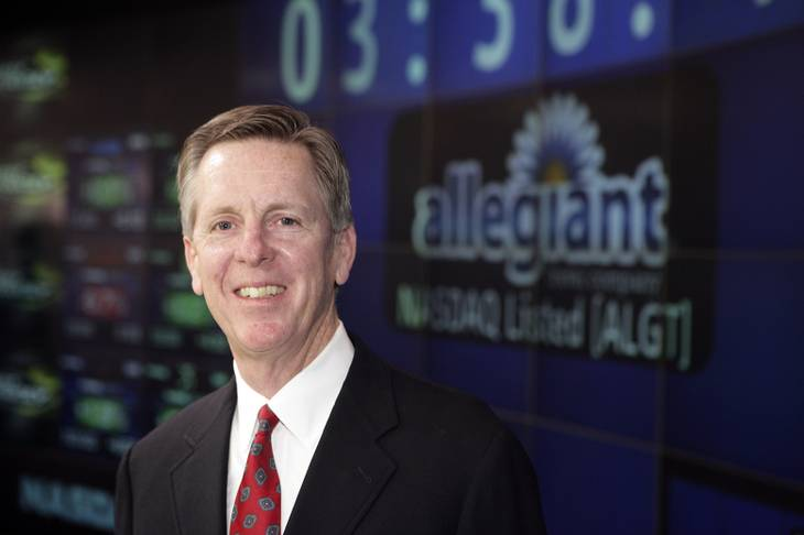 Maurice Gallagher, chairman and CEO of Allegiant Travel Co., has stakes in various ventures outside the airline industry.