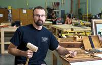 Will Dameron, owner of Community Tool Chest, offers a local workshop where customers can get help building furniture, making crafts and more.