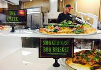 The renovation of the Smith's at 10616 S. Eastern Ave., Henderson, included the addition of a made-to-order pizza counter with a brick oven.