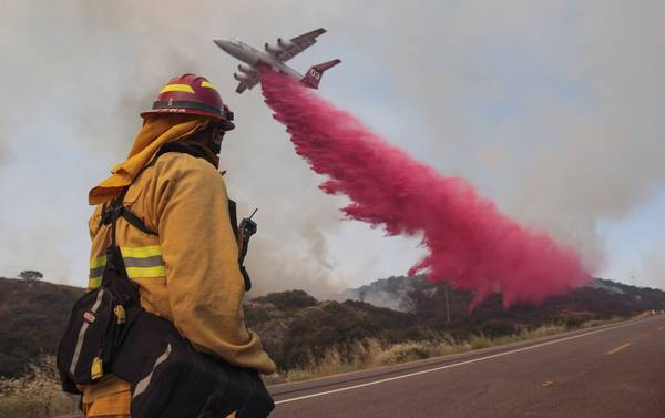 New Fires Erupt In California As Heat Wave Sears The West Las Vegas Sun News