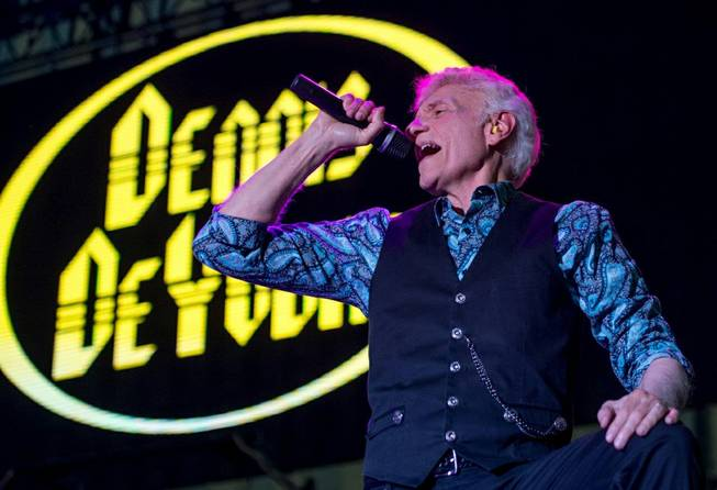 Dennis DeYoung, formerly of Styx, opens for Boston at Downtown Las Vegas Events Center, Friday, July 15, 2016.