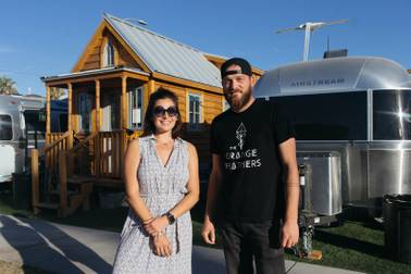 Minimalism: Folks ditching their possessions for tiny houses ... on home designers, knitting designers, building designers, tiny houses on wheels,