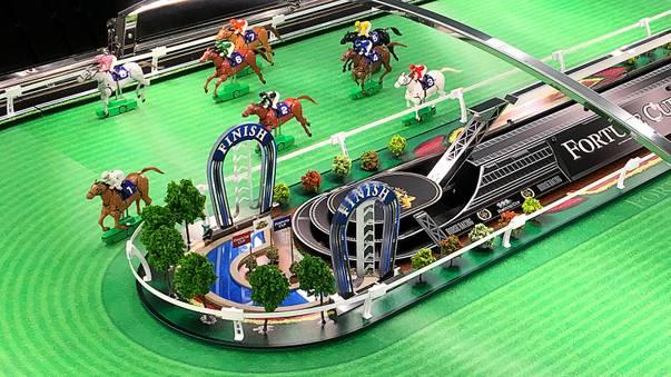 electronic horse betting machines