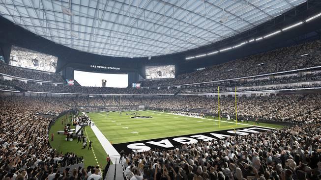 Why A 65 000 Seat Stadium Capacity Suits The Raiders In Las Vegas Las Vegas Sun Newspaper