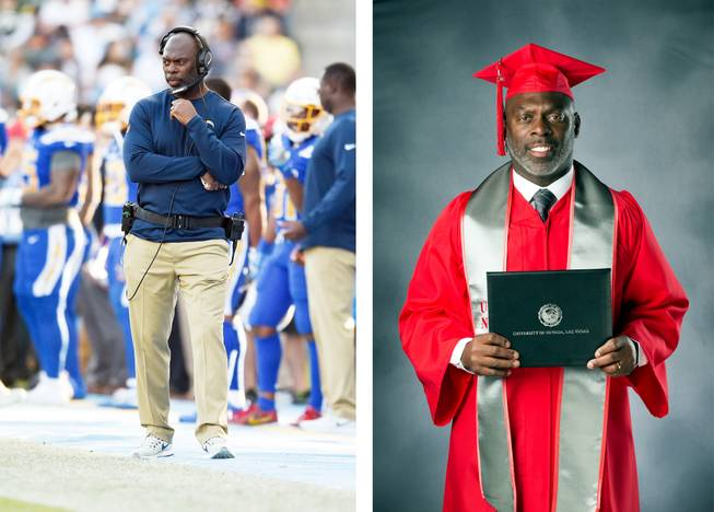 How Unlv Was The Right Fit For Nfl Coach Anthony Lynn To Earn A Degree Las Vegas Sun Newspaper Virtual graduation is november 25. nfl coach anthony lynn to earn a degree