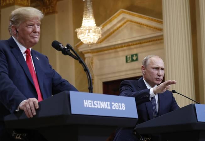 Donald Trump-Vladimir Putin meet: US president embraces