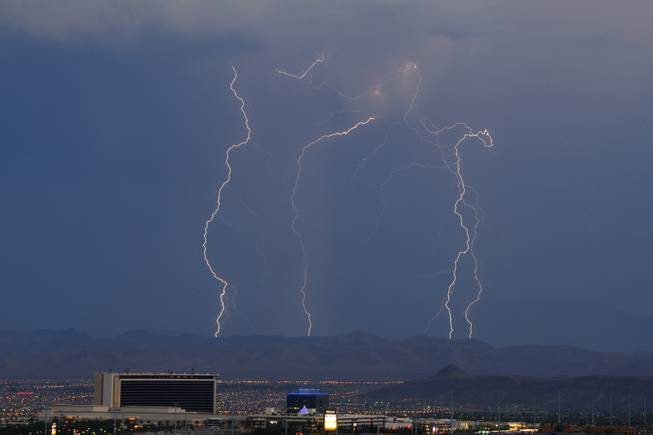 Monsoon Season Lightning
