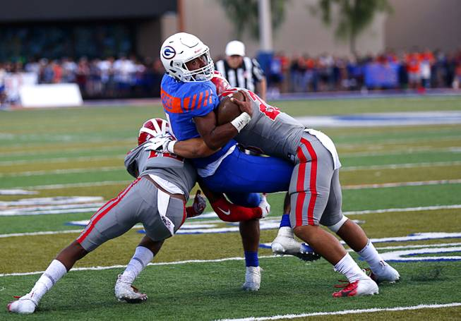 Gorman Football Has 24 Hours To Get Over 42 Point Loss To Mater Dei High School Sports News