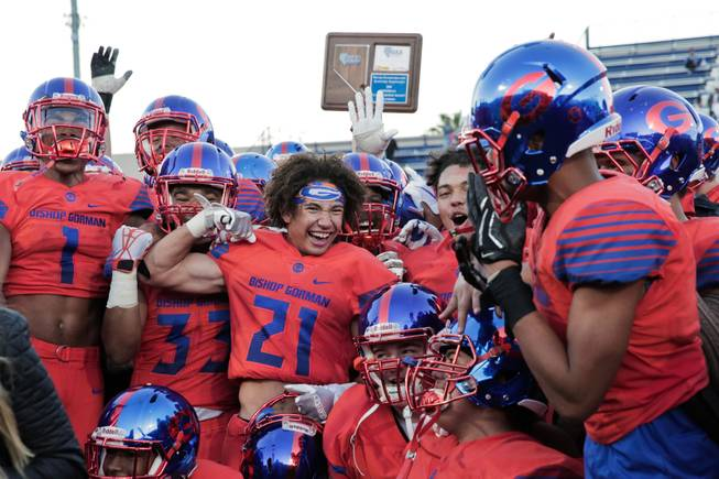 Gorman Championship Formula Two Tds In One Minute To Beat Liberty High School Sports News