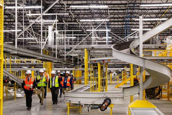 Amazon Fulfillment Center In North Las Vegas Nears Completion