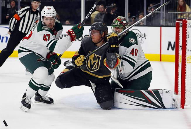 Blog Late Goal Sinks Golden Knights Against Wild Las Vegas Sun