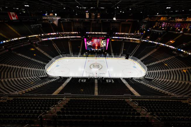 Behind-the-Scenes at a Vegas Golden Knights Game