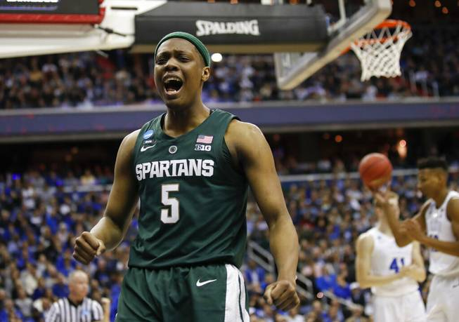Michigan State to Final Four
