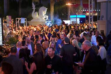 The Evolution Las Vegas Food & Wine Experience is set for April 18 at the new Caesars Forum Convention Center.