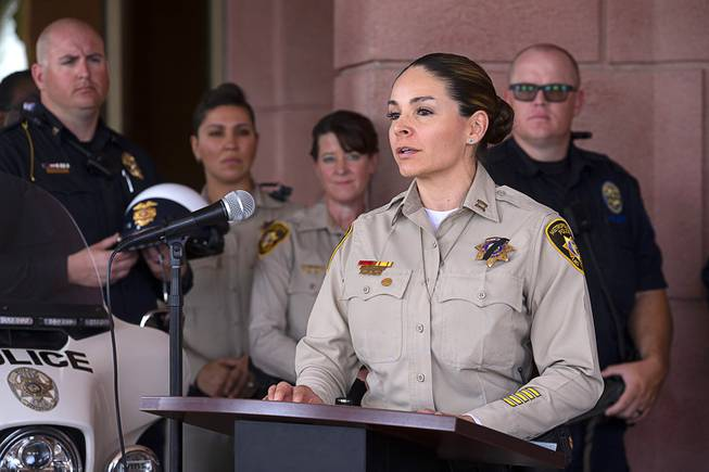 Photograph : CCSD School Safety News Conference -