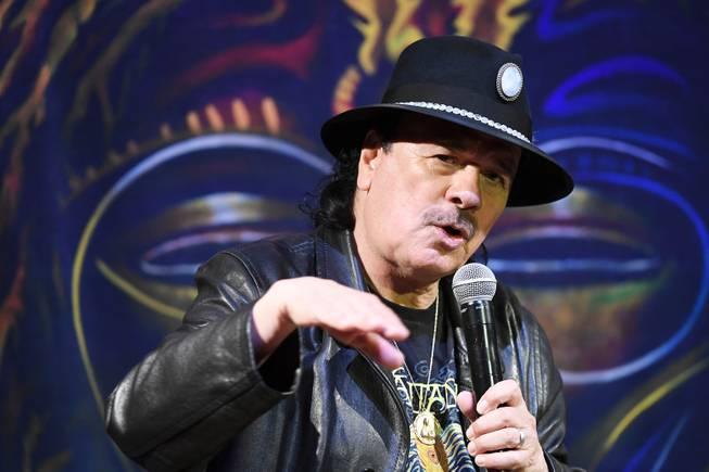 Carlos Santana Unveils New Track from Upcoming Album