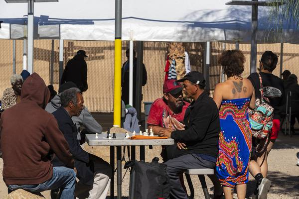 Las Vegas Enlists Nonprofit To Run Homeless Courtyard In