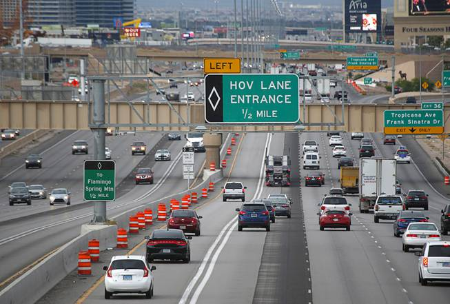 Carpool Lane Rules >> What You Need To Know To Drive In The New Hov Lanes In Las