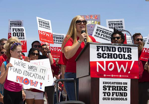 Clark County Teachers Affirm Strike Commitment If Funding