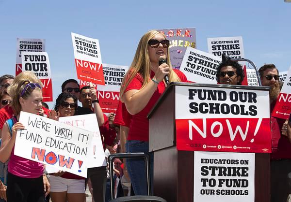 Clark County Teachers Affirm Strike Commitment If Funding