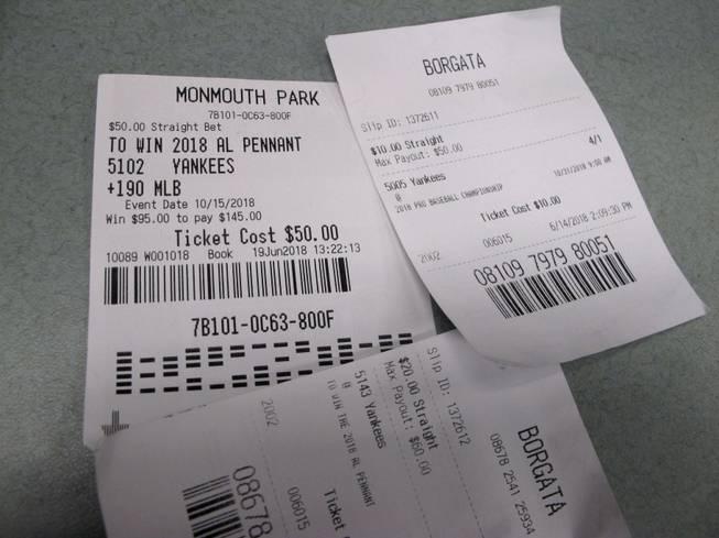 Vegas sports betting payouts bet on sport