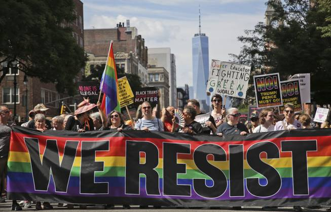 Nyc Pride Parade Is One Of Largest In Movements History Las