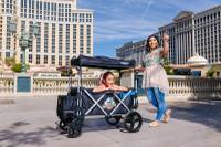 "After starting a successful stroller-rental business in Orlando this past year, Mark Ortenzo figured Las Vegas would be a good city for expansion. His business, Main Street Strollers, opened on the Strip in June and is the brainchild of Ortenzo and his wife, Catalina. ""Las Vegas seemed like a natural fit for us,"" Ortenzo said. ""I travel to Vegas for my other business quite a bit, and I kept noticing more and more ..."