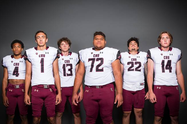 Las Vegas Sun's HSFB Media Day Team Portraits